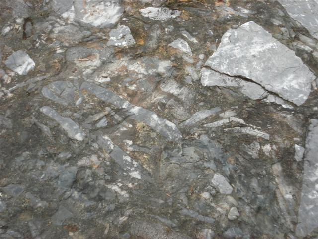 Breccia Near Entrance